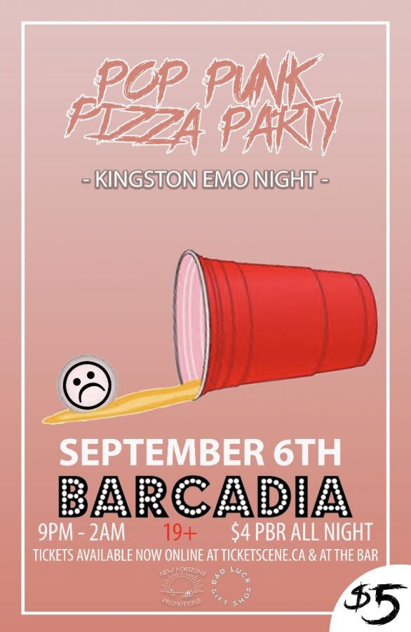 Pop Punk Pizza Party (Kingston Emo Night)