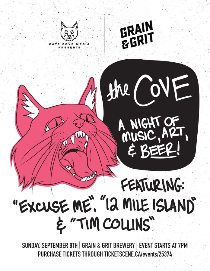 The Cove - A Night of Music, Art & Beer