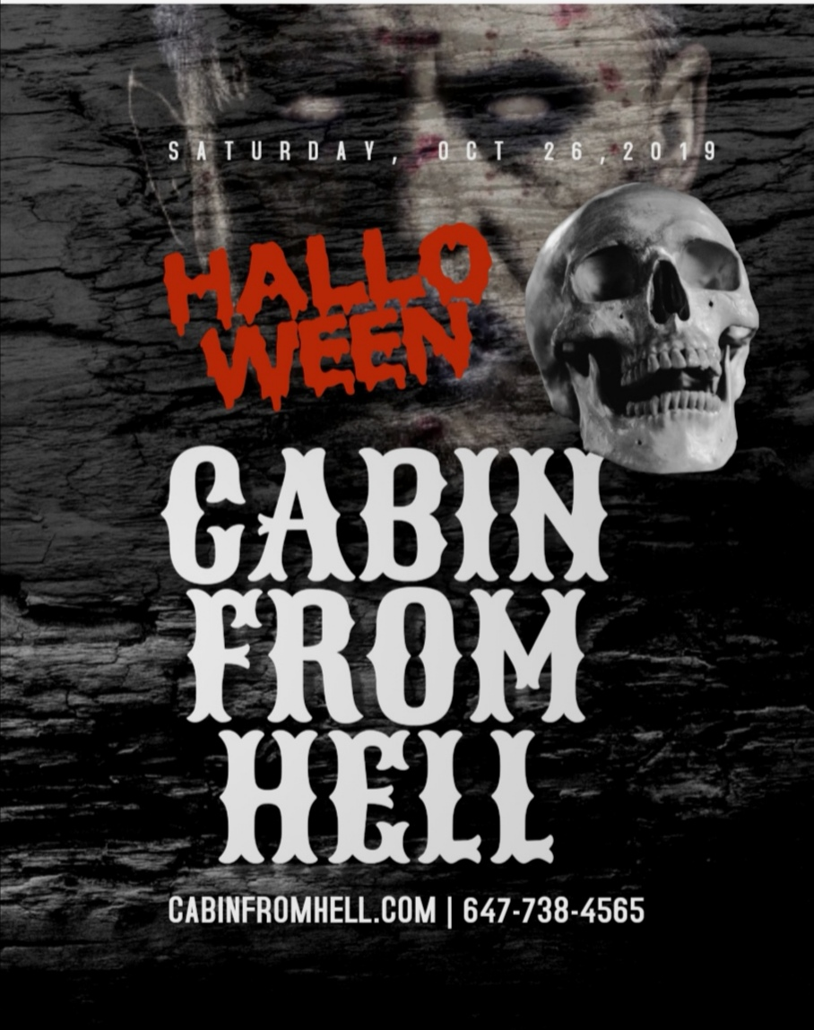 Cabin From Hell Toronto Halloween 2019 Costume Party Event 2019