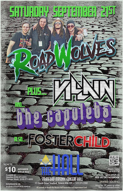 Road Wolves - Villain - The Capulets & Fosterschild