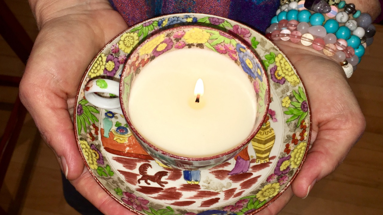 Aromatherapy Teacup Candle Making
