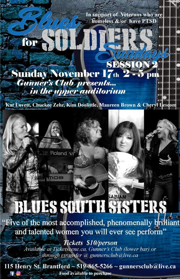 Blues for Soldiers Sundays - Blues South Sisters