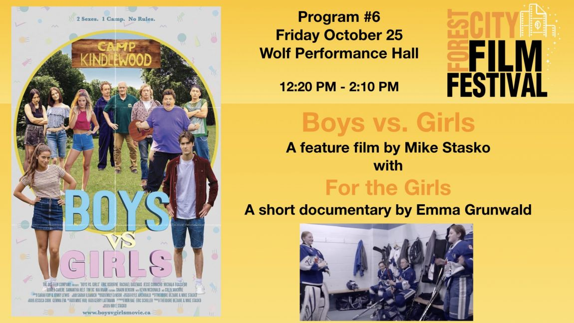 FCFF 2019 - Friday Early Afternoon at Wolf Program #6  - Boys vs Girls & For the Girls