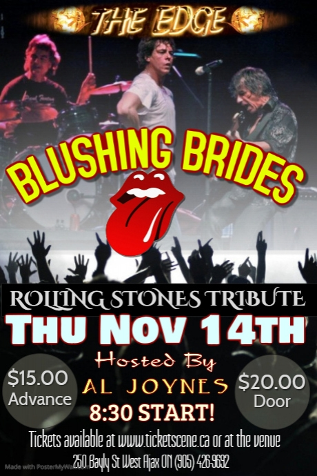 BLUSHING BRIDES (Rolling Stones Tribute)
