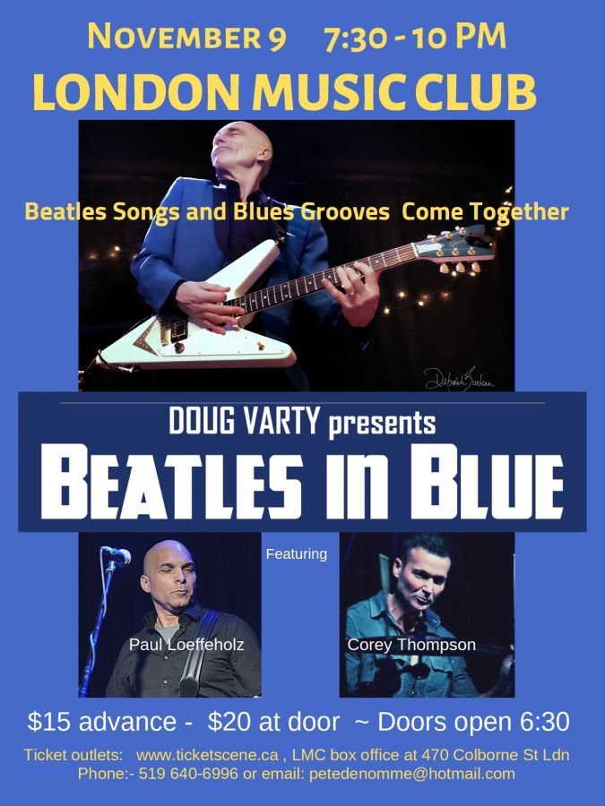Beatles In Blue featuring Doug Varty @ LMC!!!