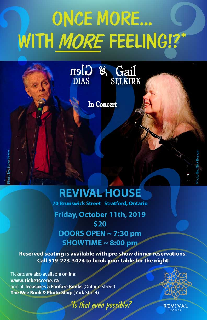 Glen Dias & Gail Selkirk in Concert at Revival House