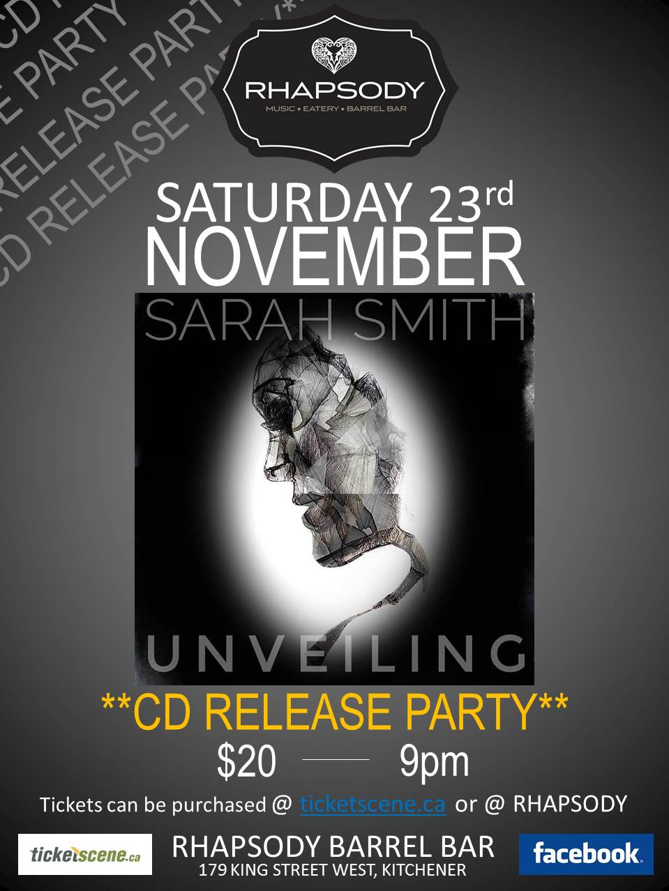 Sarah Smith CD Release Party
