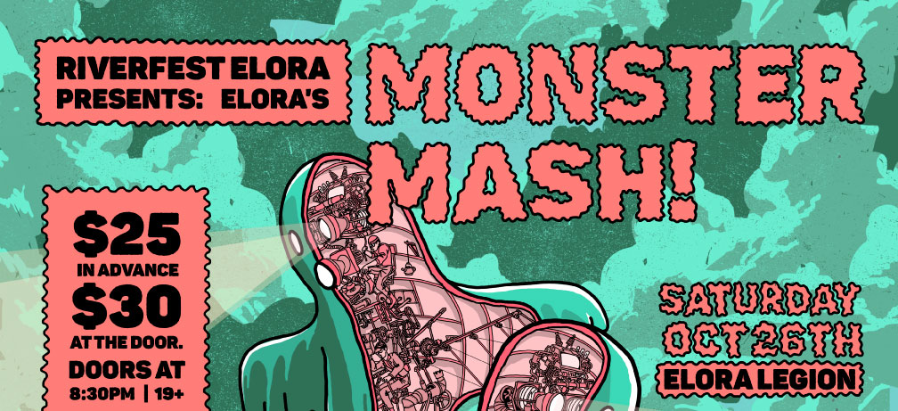 Elora's Monster Mash • Presented by Riverfest Elora!