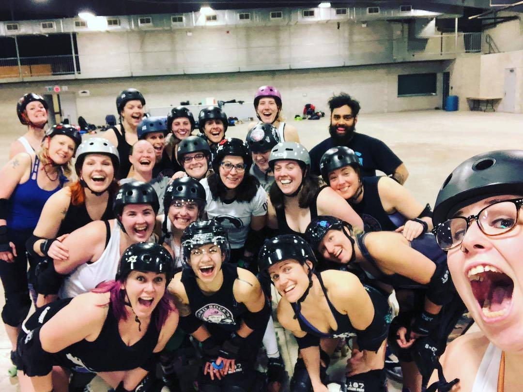 Orangeville Roller Girls - Series Finale: the one where ORG plays its final game!