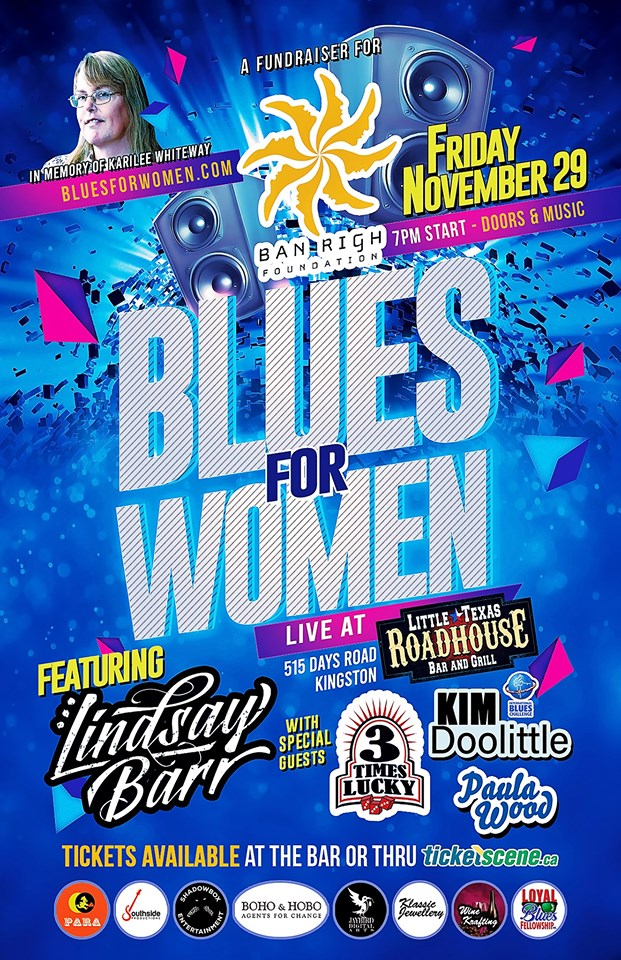 BLUES FOR WOMEN FUNDRAISER