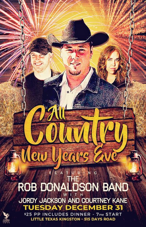 All Country New Year's Eve Party at Little Texas