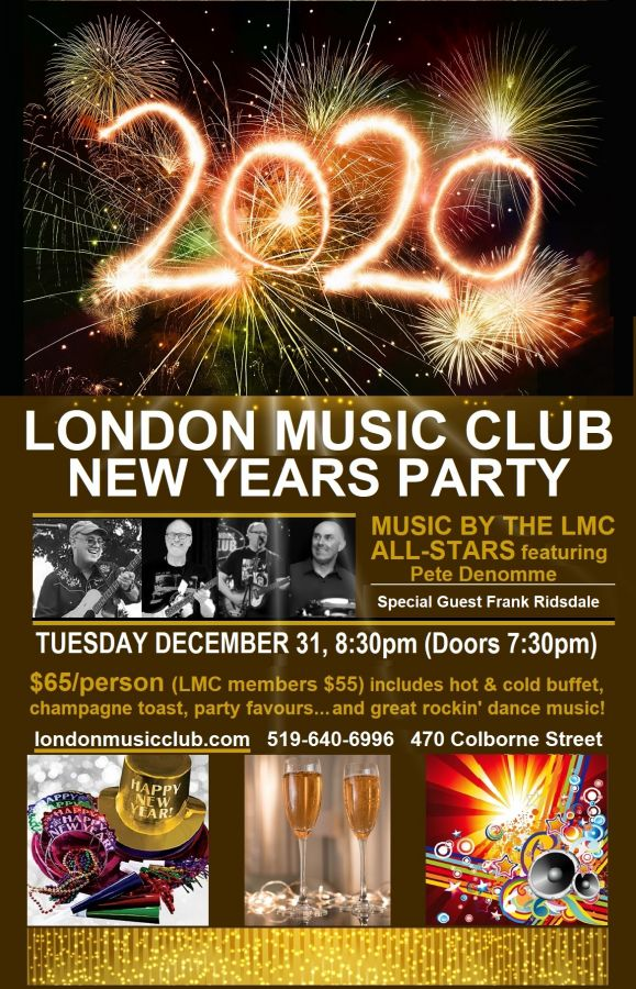 New Years Party @ London Music Club
