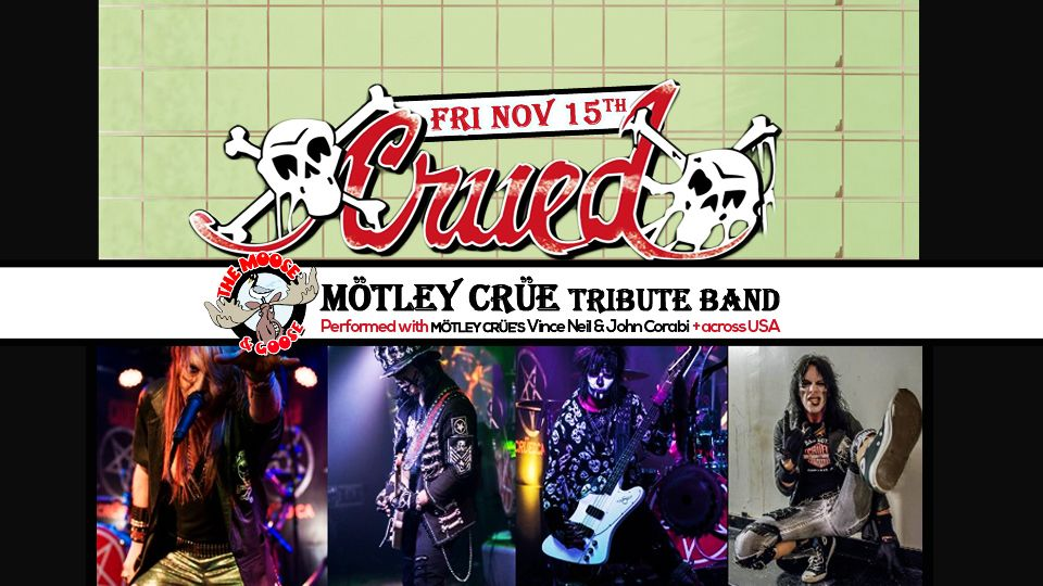 CRUED - Motley Crue Tribute Band with guests Veranda Beach