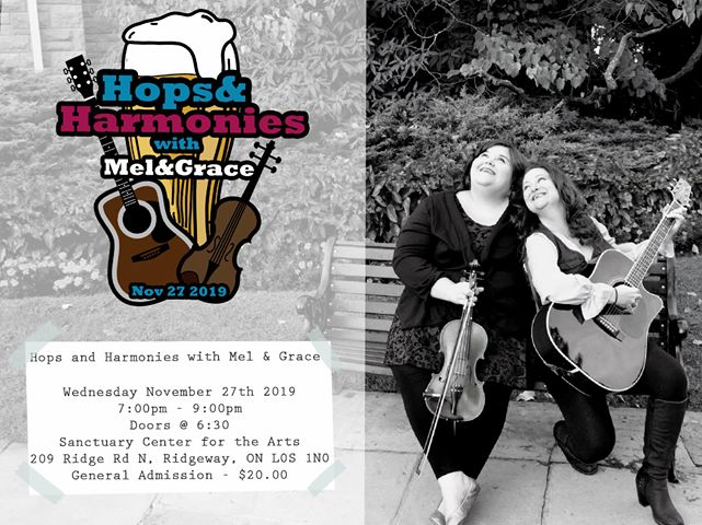 Hops and Harmonies with Mel & Grace