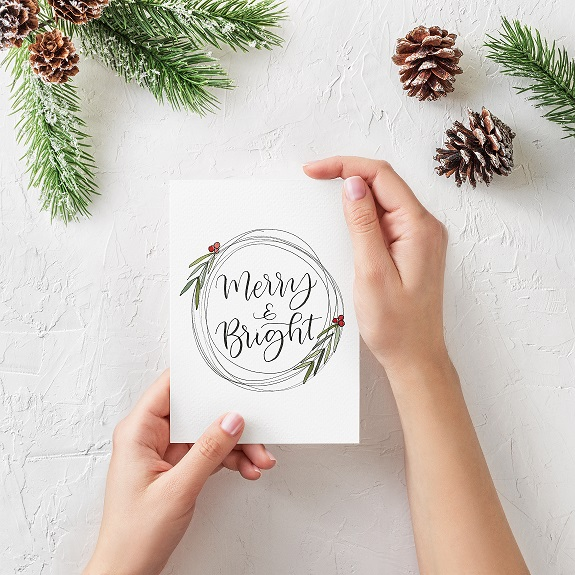 Intro to Calligraphy- Handmade Holiday Cards