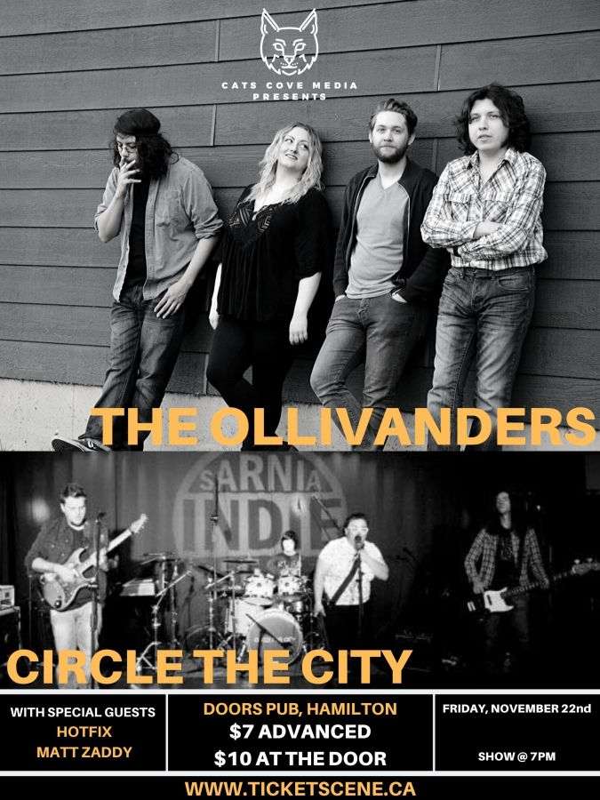 The Ollivanders w/ Circle The City & Friends