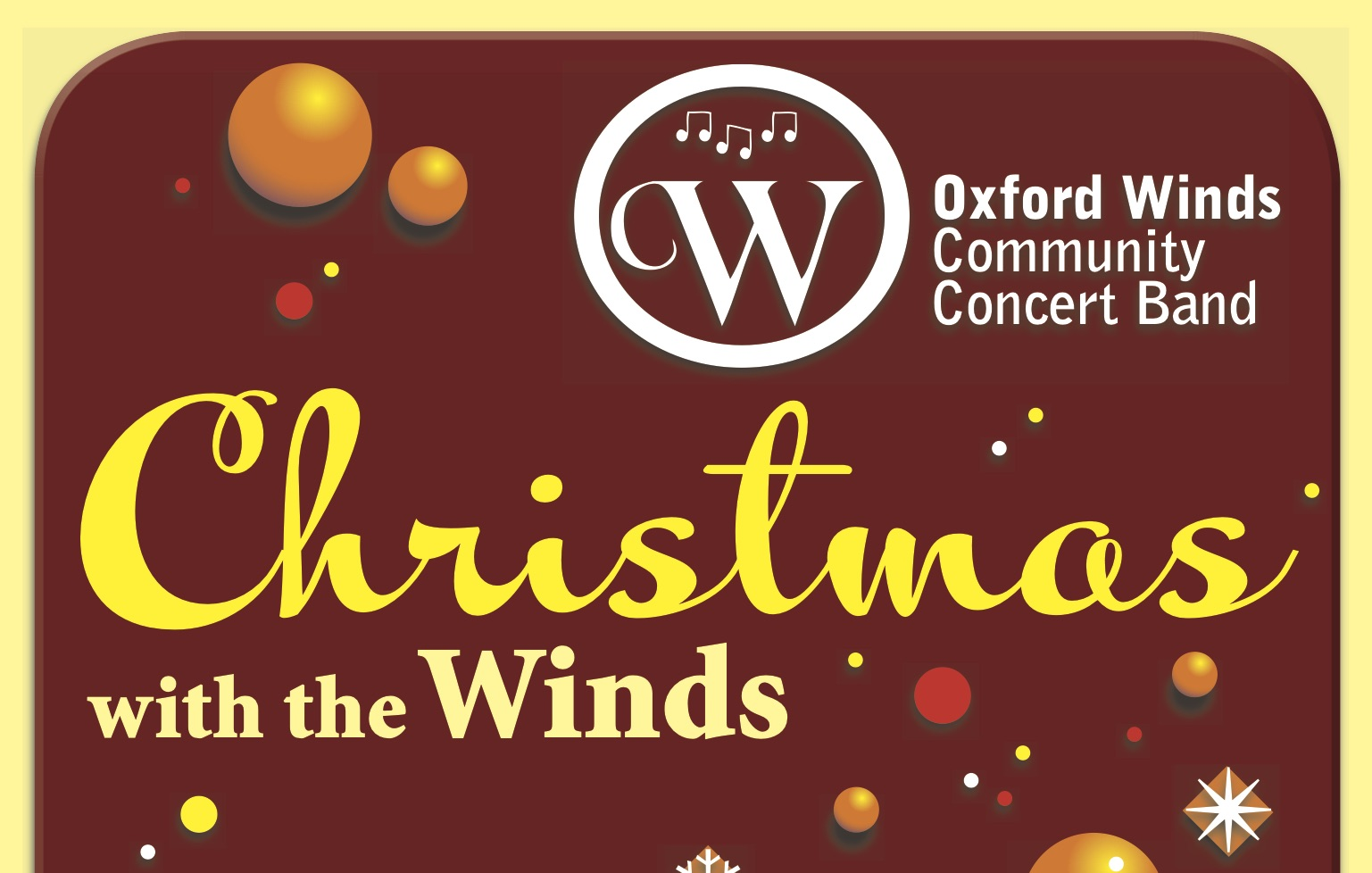 Christmas with the Winds