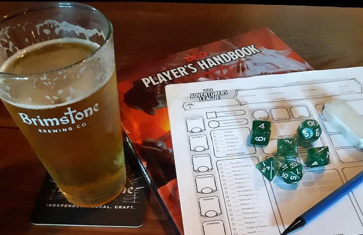 Beer, Dice, and Brimstone
