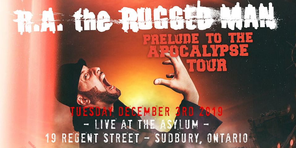 RA The Rugged Man - Live in Sudbury at The Asylum