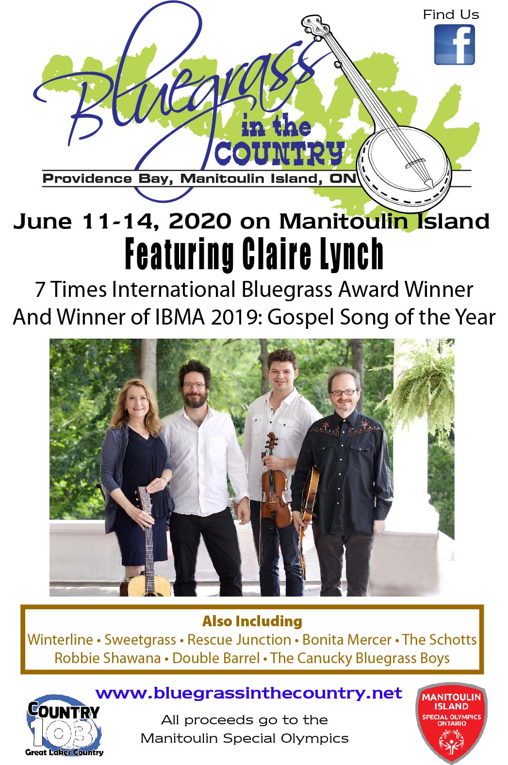 Bluegrass in the Country (Weekend Pass)