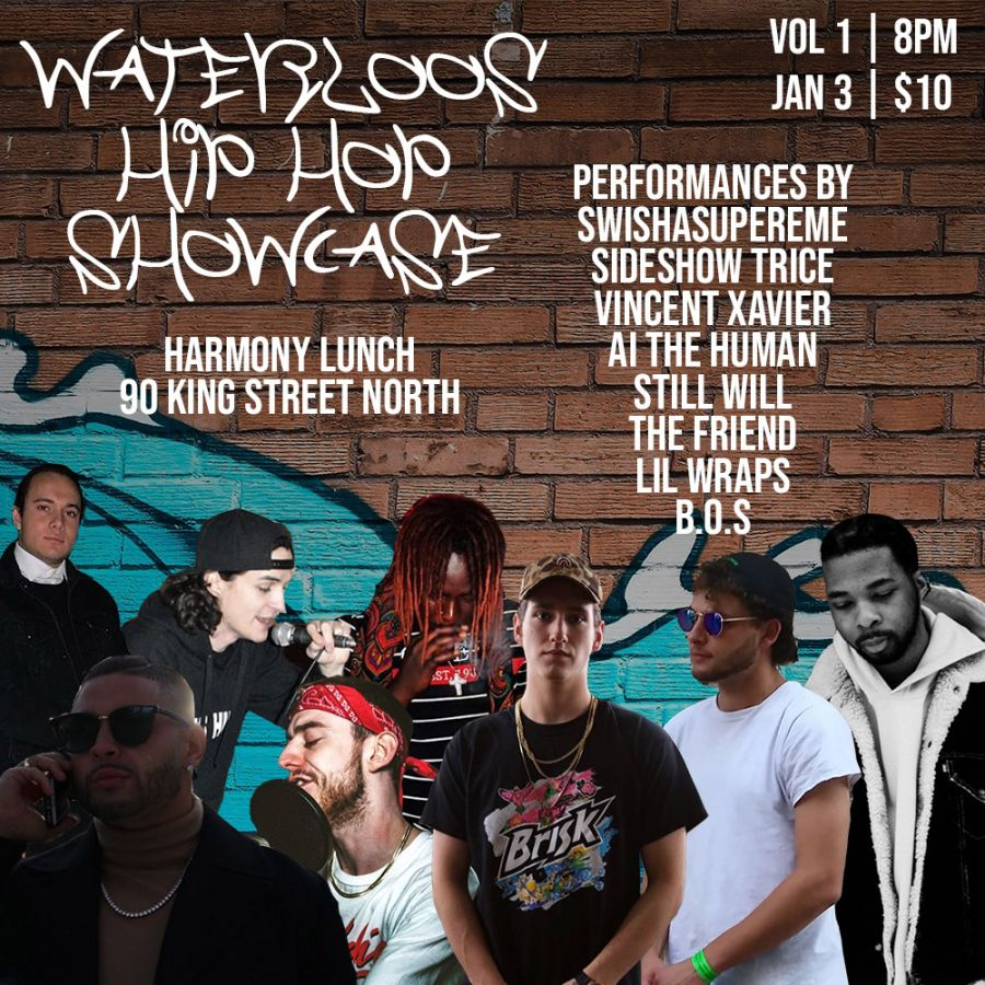Waterloo's Hip-Hop Showcase Vol 1