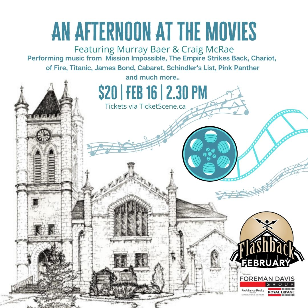 Flashback February: An Afternoon at the Movies Organ Concert