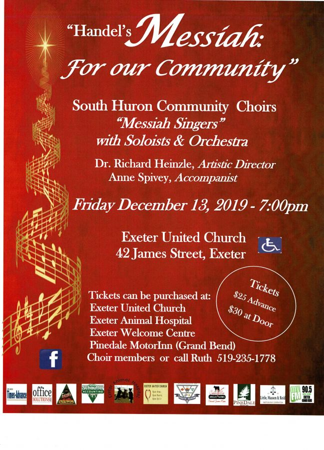 Handel's Messiah:  For our Community