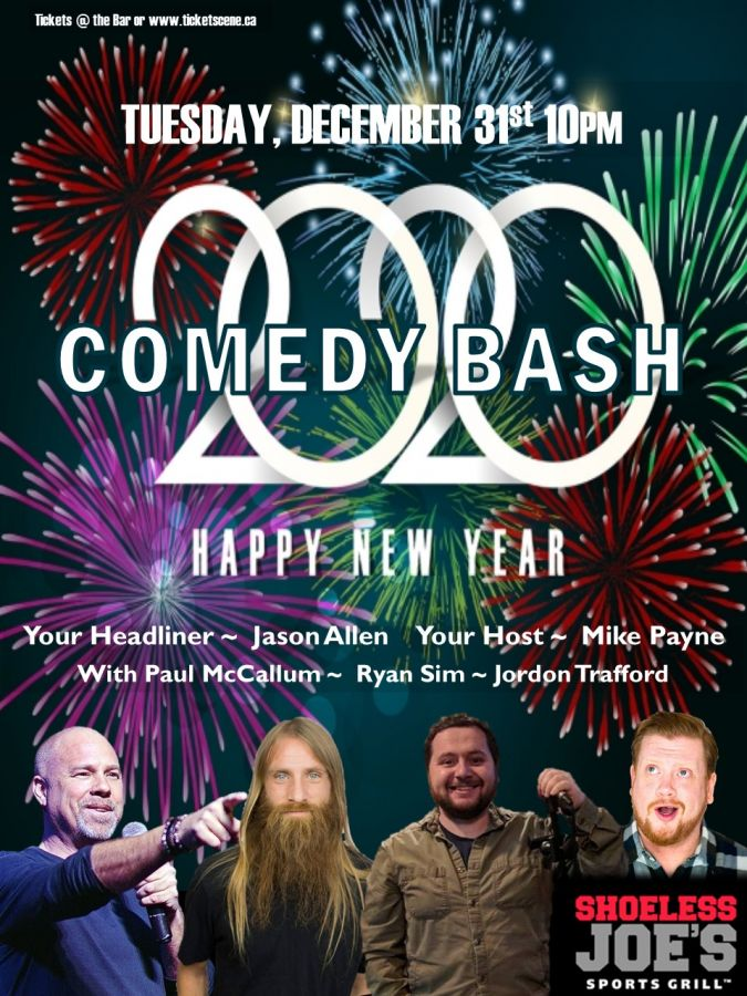 New Year's Eve Comedy Bash