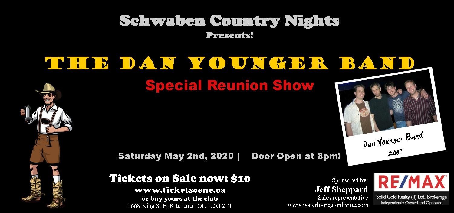 Schwaben Country Nights featuring The Dan Younger Band
