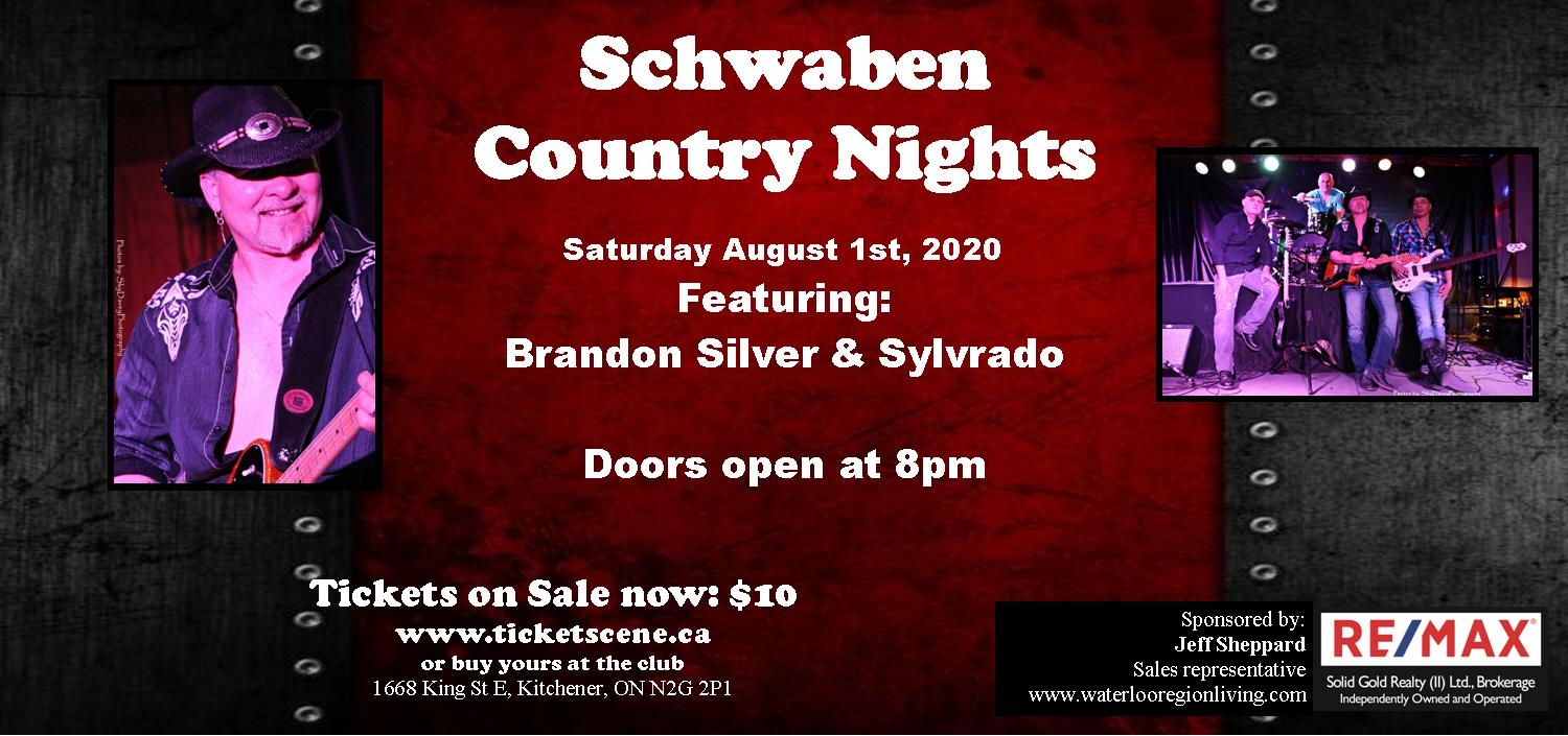 Schwaben Country Nights featuring Brandon Silver & Sylvrado