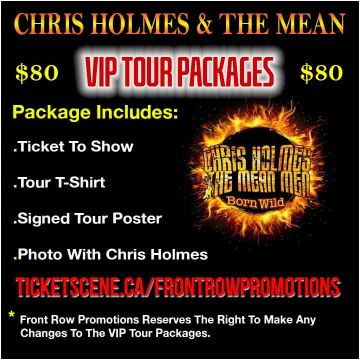 Chris Holmes VIP Tickets London ON