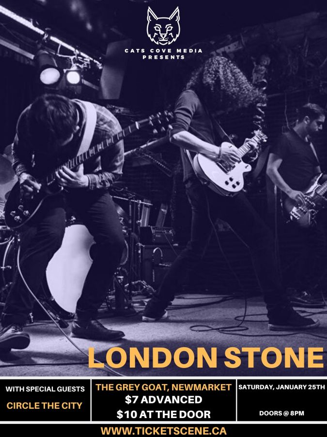 London Stone at The Grey Goat