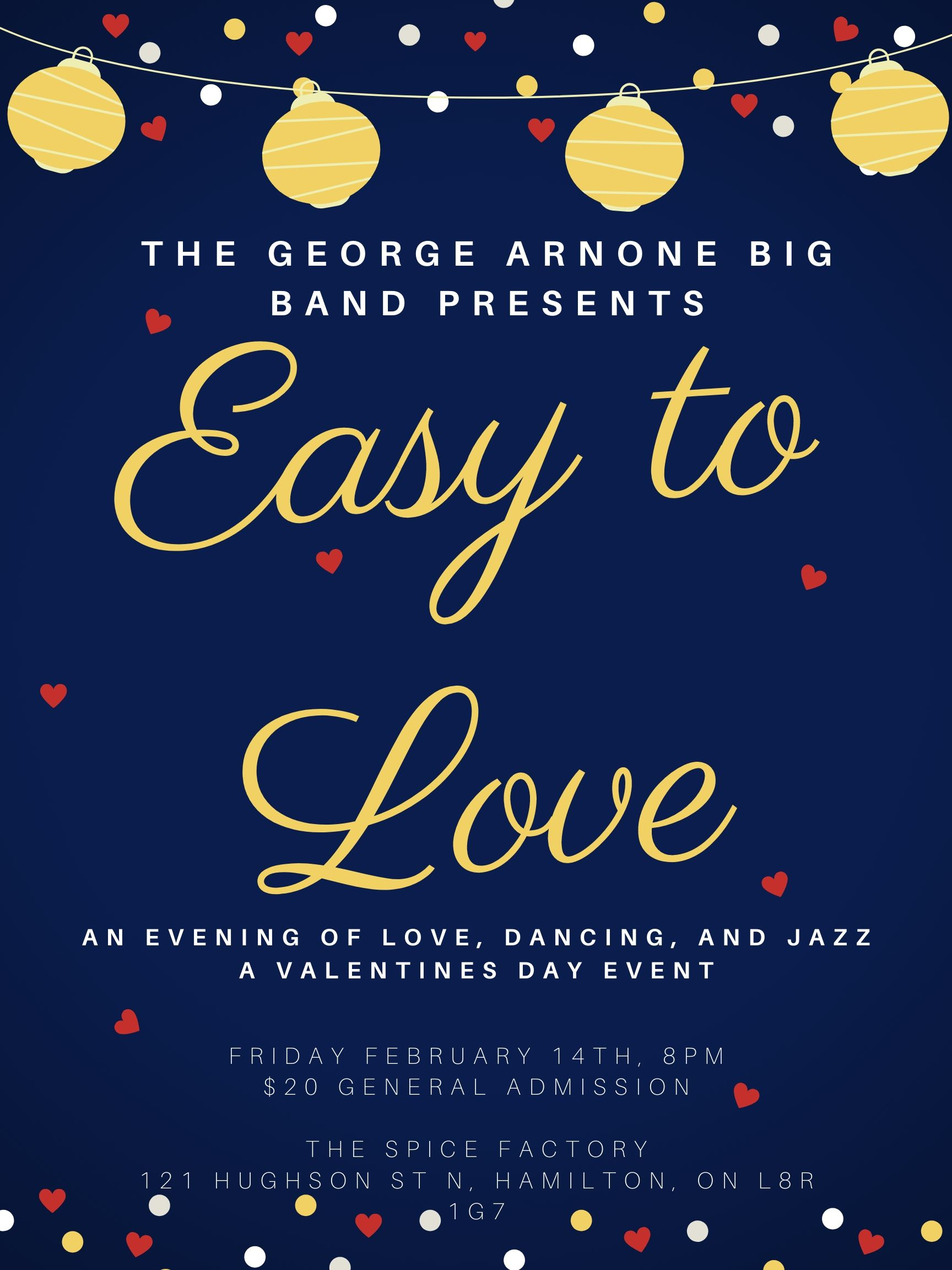 Easy to Love with The George Arnone Big Band