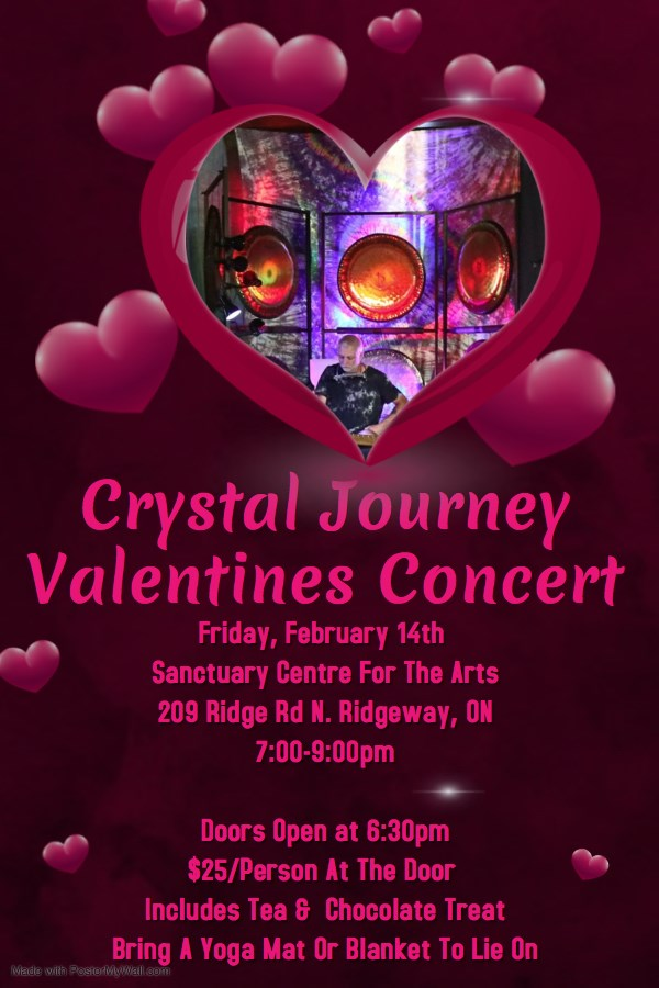 Crystal Journey Valentine's Day Concert