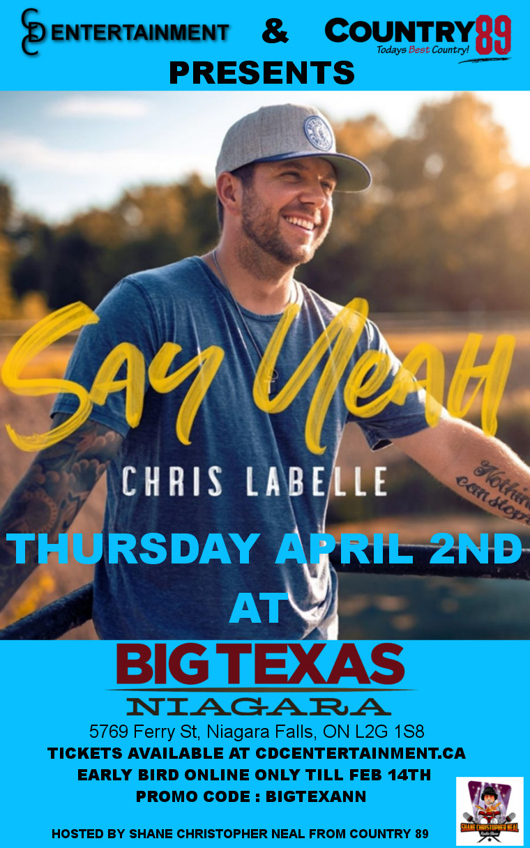 CHRIS LABELLE  Say Yeah