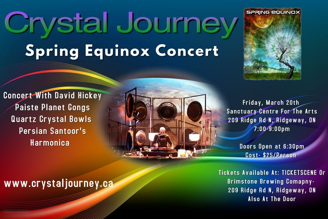 Crystal Journey Spring Equinox 2020 Concert