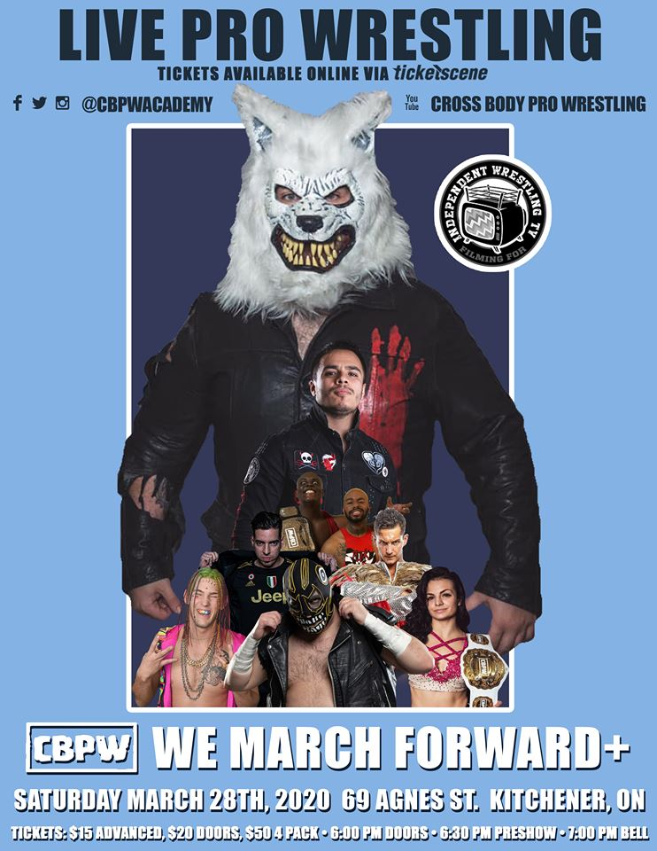 CBPW Presents: We March Forward+
