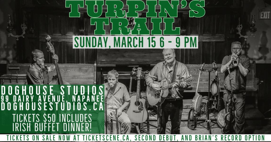 Turpin's Trail St. Patrick's Weekend dinner + show