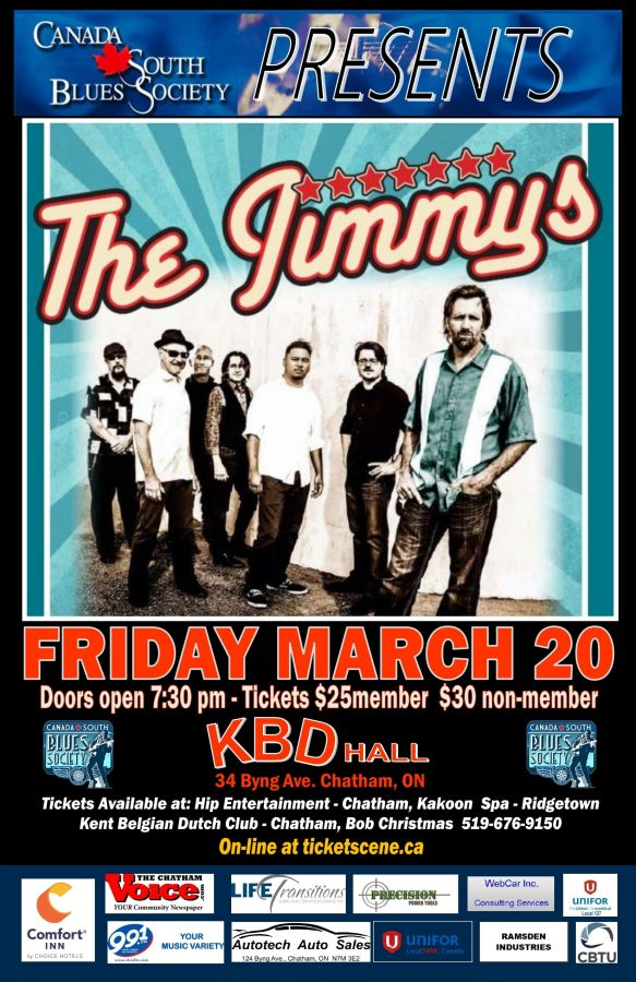 The Jimmys - Canada South Blues Society (Chatham/Kent)