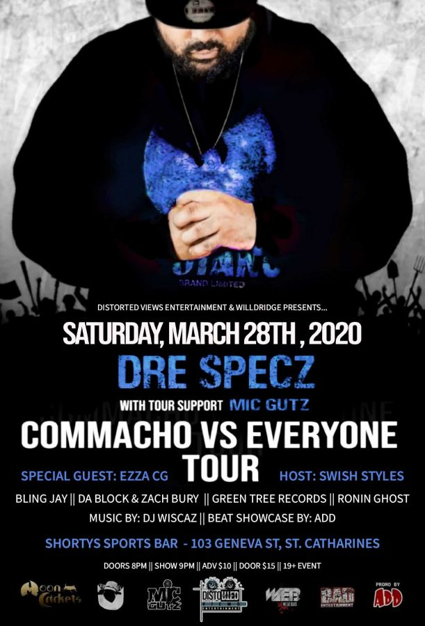 Commacho Vs Everyone Tour - Live In St CatharinesCommacho Vs Everyone Tour - Live In St Catharines