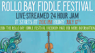 Rollo Bay Fiddle Festival Live-streamed 24 Hour Jam