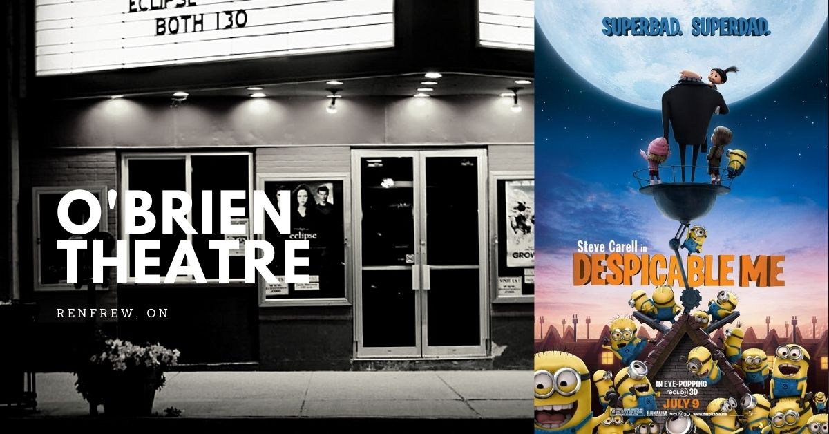 Despicable Me (Matinee) @ O'Brien Theatre in Renfrew