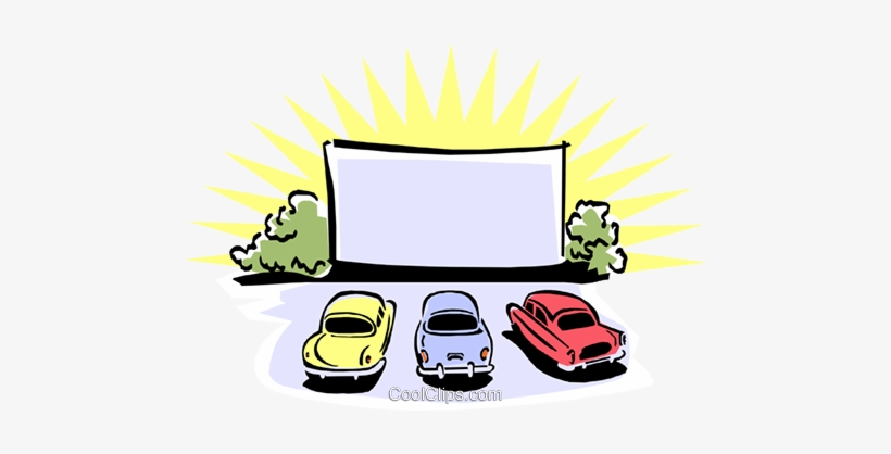 Drive In Movies at Paris Fairgrounds