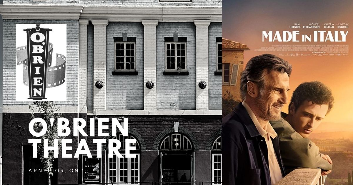 Made in Italy @ O'Brien Theatre in Arnprior