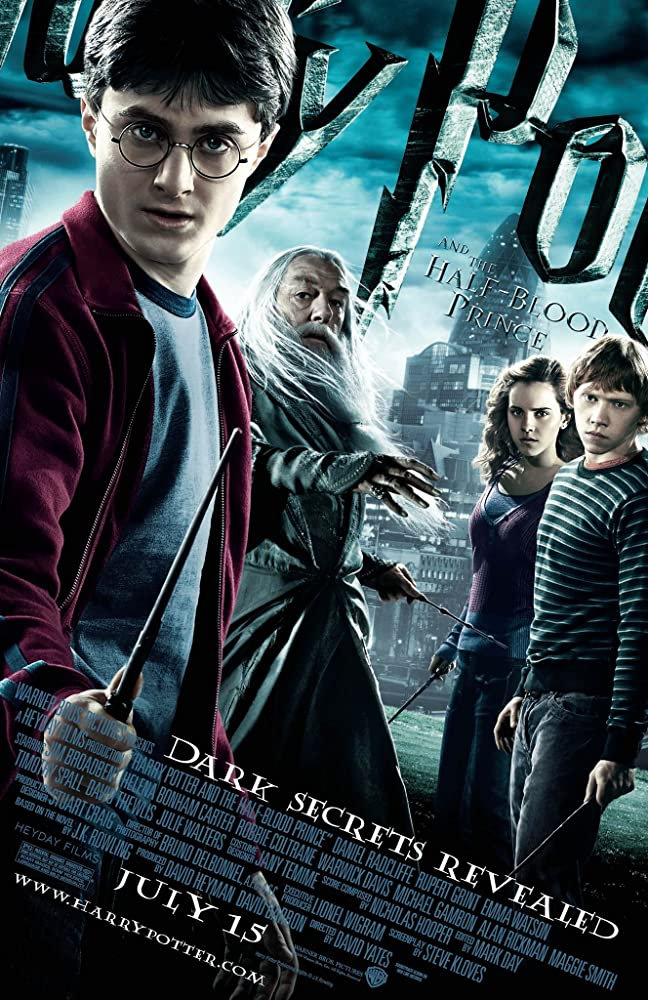 Harry Potter and the Half-Blood Prince (2009)  [Vintige Movie Price $7 all seats] @ O'Brien Theatre in Renfrew