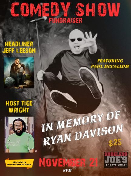 Live Comedy in memory of Ryan Davison