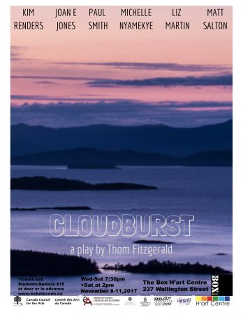 Cloudburst Thursday, November 9