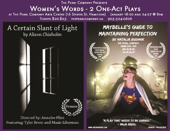Women's Words: 2 One Act Plays
