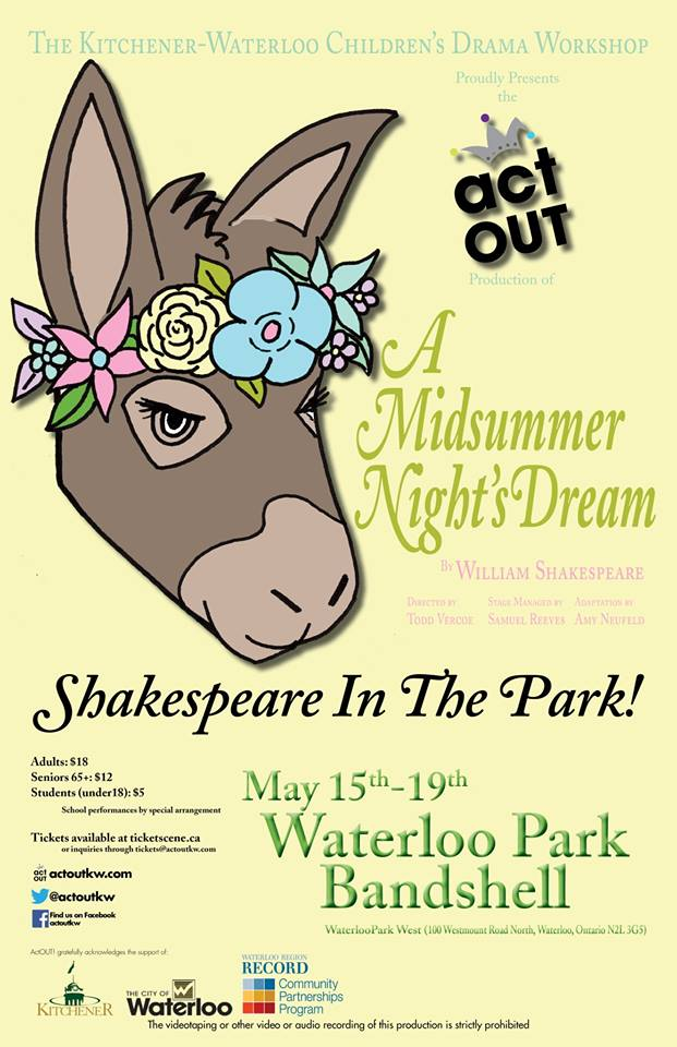 RELOCATED - A Midsummer Night's Dream (Fairies Cast)