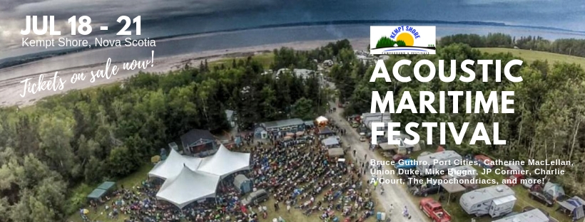 Weekend Pass - Acoustic Maritime Music Festival ft Bruce Guthro, Port Cities, and more.